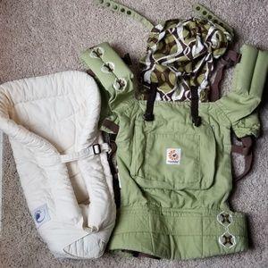 Ergo Baby Carrier & Newborn Insert